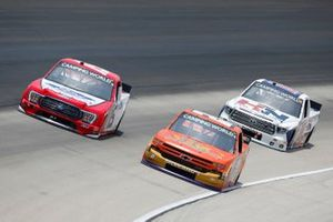 Zane Smith, GMS Racing, Chevrolet Silverado MRC Construction, Tanner Gray, Team DGR, Ford F-150 Ford Performance