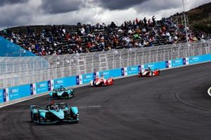 Mitch Evans, Jaguar Racing, Jaguar I-TYPE 5, Sam Bird, Jaguar Racing, Jaguar I-TYPE 5, Alexander Sims, Mahindra Racing, M7Electro