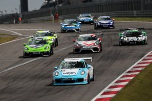 #215 Porsche 911 GT3 Cup: Mathias Hüttenrauch, Michael Czyborra, Patrick Huisman