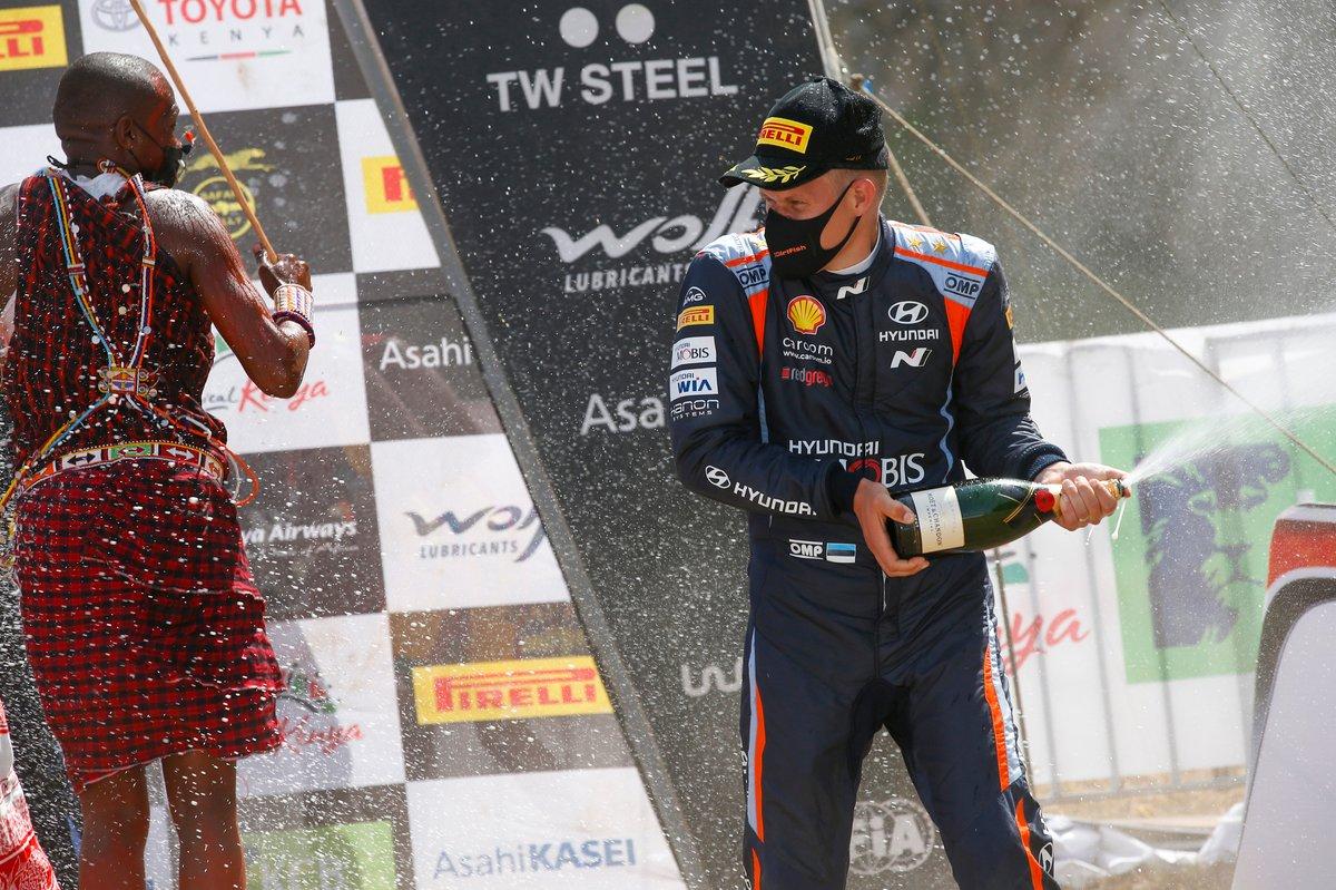 Podio: Ott Tänak, Hyundai Motorsport