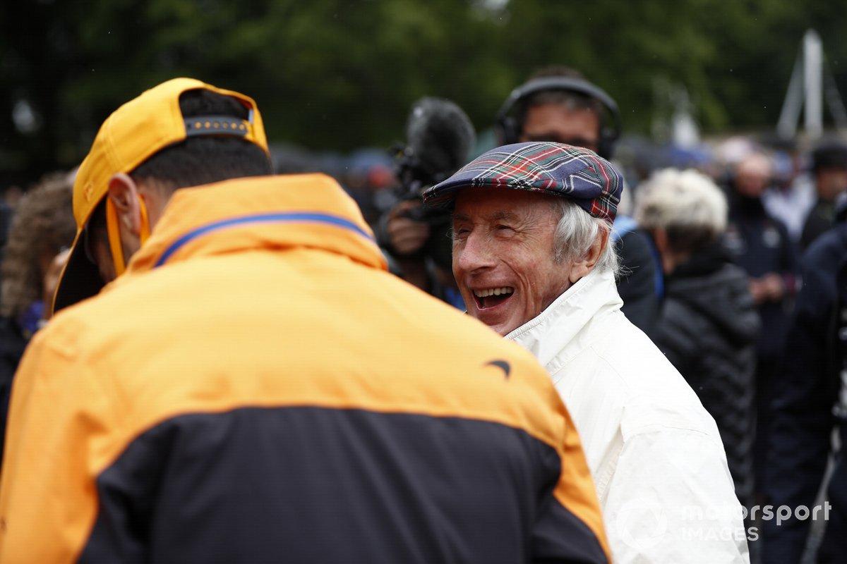 Daniel Ricciardo, McLaren y Jackie Stewart