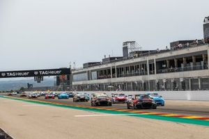 Start action, Frédéric Vervisch, Comtoyou Team Audi Sport Audi RS 3 LMS leads