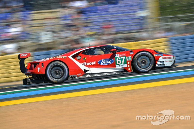 GTE-Pro: #67 Ford Chip Ganassi Racing Team UK, Ford GT