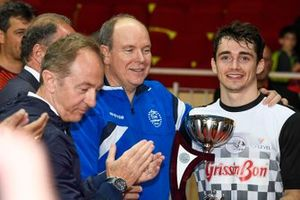 H.S.H. Prince Albert of Monaco and Charles Leclerc
