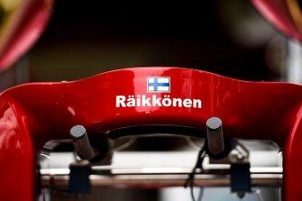 Reposacabezas de Kimi Raikkonen, Alfa Romeo Racing C38