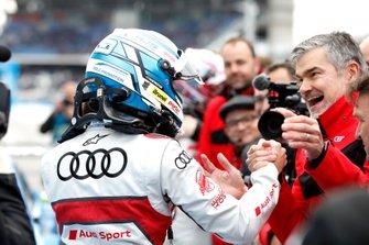 Race winnaar René Rast, Audi Sport Team Rosberg