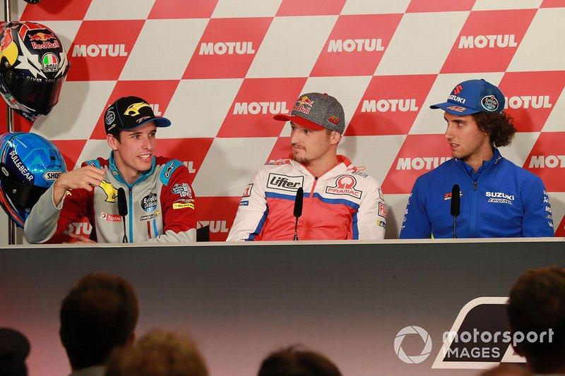 Alex Marc Marquez, Repsol Honda Team, Jack Miller, Pramac Racing, Alex Rins, Team Suzuki MotoGP
