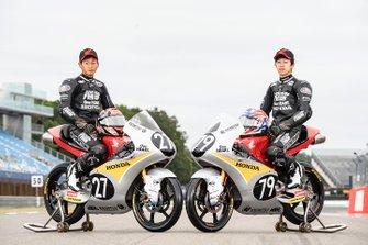 Toba Kaito et Ai Ogura, Honda Team Asia