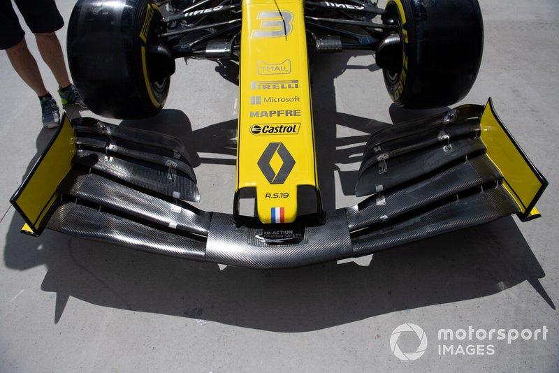 Renault R.S.19: Frontflügel
