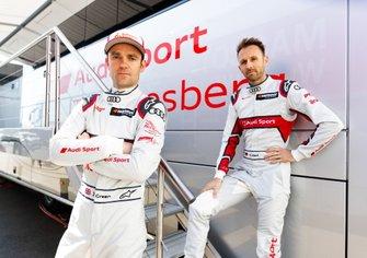 Jamie Green, Audi Sport Team Rosberg, René Rast, Audi Sport Team Rosberg