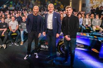 Humberto Tan, Frits van Eerd en Max Verstappen