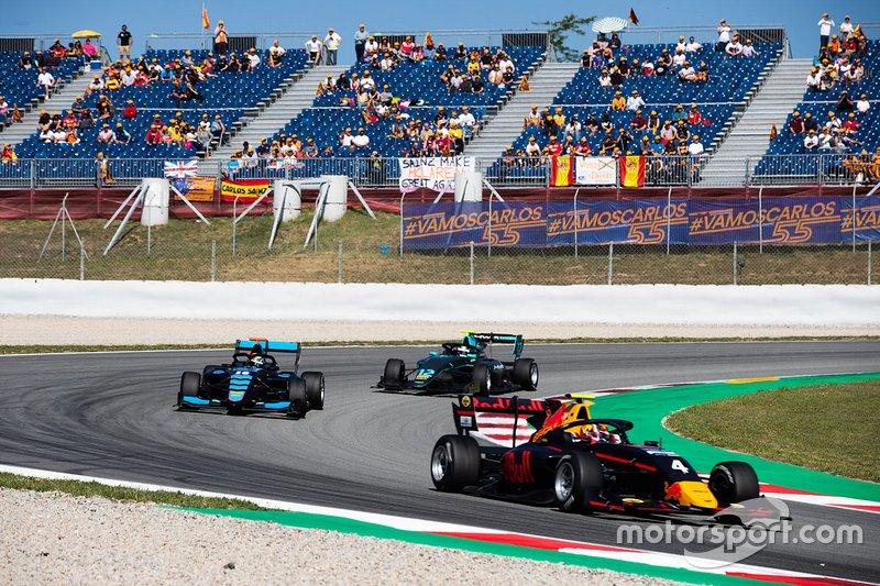 Liam Lawson, MP Motorsport and Andreas Estner, Jenzer Motorsport