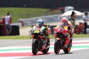 Andrea Iannone, Aprilia Racing Team Gresini, Marc Marquez, Repsol Honda Team