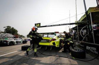 #12 AIM Vasser Sullivan Lexus RC F GT3, GTD: Frank Montecalvo, Townsend Bell