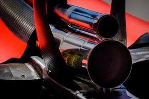 Ferrari SF90 dettaglio parte posteriore