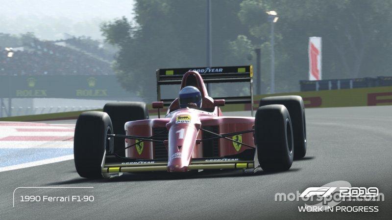 Ferrari F1-90 de Alain Prost