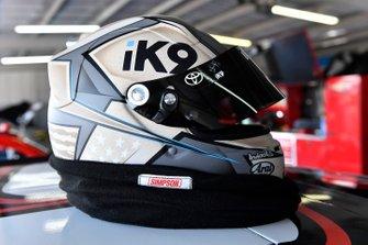Brandon Jones, Joe Gibbs Racing, Toyota Supra 1st Foundation helmet