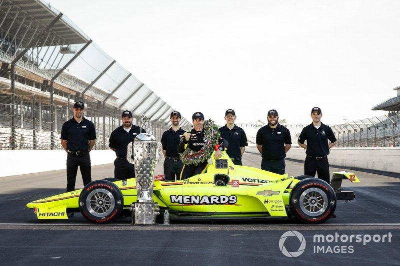 Platz 1: Simon Pagenaud, Team Penske Chevrolet