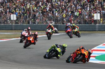 Pol Espargaro, Red Bull KTM Factory Racing, Valentino Rossi, Yamaha Factory Racing, Johann Zarco, Red Bull KTM Factory Racing, Francesco Bagnaia, Pramac Racing