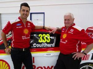 Fabian Coulthard and Dick Johnson, DJR Team Penske Ford Mustang