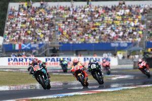 Renn-Action in Assen: Fabio Quartararo, Petronas Yamaha SRT, führt