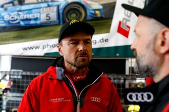 #4 Audi Sport Team Phoenix Audi R8 LMS: Marcel Fässler