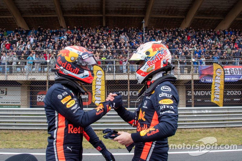 Max Verstappen, Pierre Gasly, Red Bull Racing