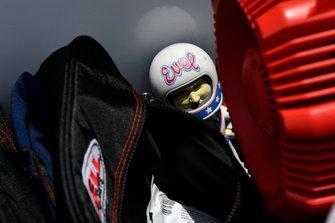 Maskottchen bei DragonSpeed: Evel Knievel
