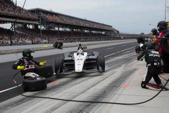Accidente en pist de Jordan King, Rahal Letterman Lanigan Racing Honda