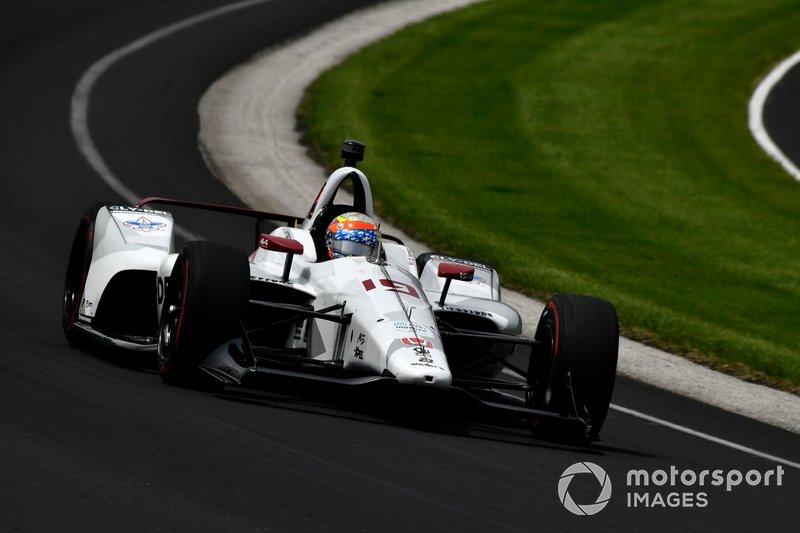 23º: #19 Santino Ferrucci, Cly-Del Manufacturing, Dale Coyne Racing Honda: 227.731 mph