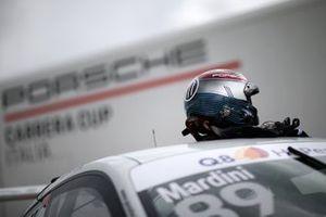Il casco di Bashar Mardini, GDL Racing