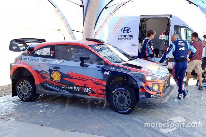 Andreas Mikkelsen, Hyundai Motorsport, Gabriele Tarquini, Hyundai i20 Coupe WRC