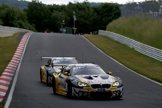 #99 Rowe Racing BMW M6 GT3: Nicky Catsburg, Marco Wittmann, Jesse Krohn, John Edwards, #98 Rowe Racing BMW M6 GT3: Philipp En, Connor De Phillippi, Tom Blomqvist, Mikkel Jensen