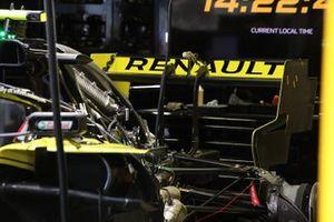 Vue détaillée de la Renault F1 Team