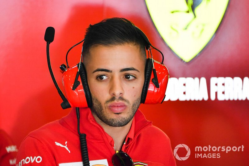 Antonio Fuoco, Pilota di riserva, Ferrari