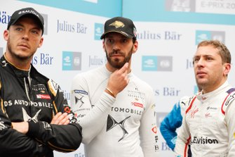 Andre Lotterer, DS TECHEETAH with Jean-Eric Vergne, DS TECHEETAH, Robin Frijns, Envision Virgin Racing