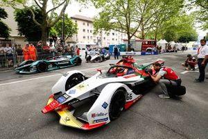 Daniel Abt, Audi Sport ABT Schaeffler, Audi e-tron FE05, Mitch Evans, Panasonic Jaguar Racing, Jaguar I-Type 3