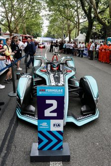 Mitch Evans, Panasonic Jaguar Racing, Jaguar I-Type 3, 2nd position