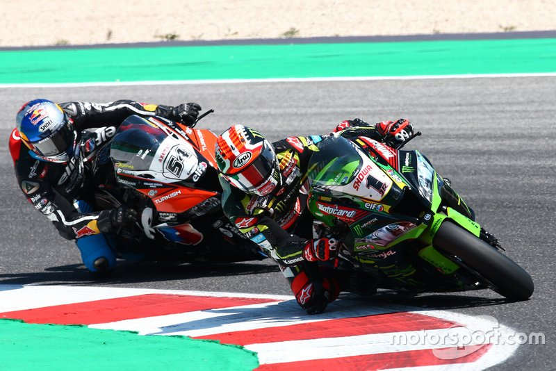 Jonathan Rea, Kawasaki Racing Team e Toprak Razgatlioglu, Turkish Puccetti Racing