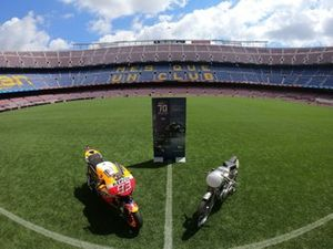 The Honda at Camp Nou, the FC Barcelona ground