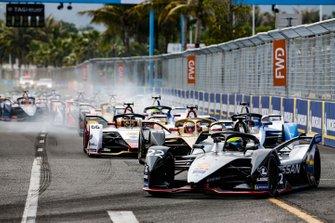 Oliver Rowland, Nissan e.Dams, Nissan IMO1, Jean-Eric Vergne, DS TECHEETAH, DS E-Tense FE19, Daniel Abt, Audi Sport ABT Schaeffler, Audi e-tron FE05