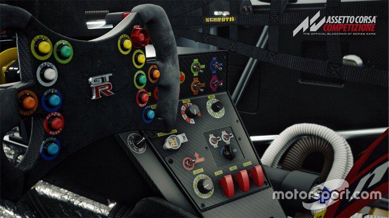 Nissan GT-R Nismo en Assetto Corsa Competizione