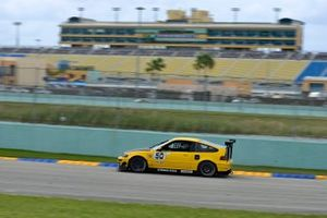 #50 MP4A Honda CRX driven by Jorge Gorbea of JAC Performance