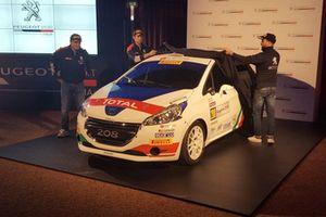 I piloti del Team Peugeot Sport Italia svelano la Peugeot 208