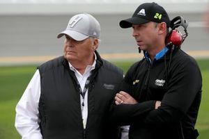 Chad Knees, Hendrick Motorsports, Chevrolet Camaro Axalta, Rick Hendrick