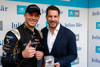 Andre Lotterer, DS TECHEETAH, with Marco Parroni, Head of Global Sponsoring, Managing Director SA Julius Baer