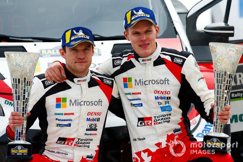 Martin Järveoja, Ott Tänak, Toyota Gazoo Racing WRT Toyota Yaris WRC