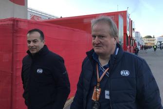 Jo Bauer, FIA Formula One Technical Delegate