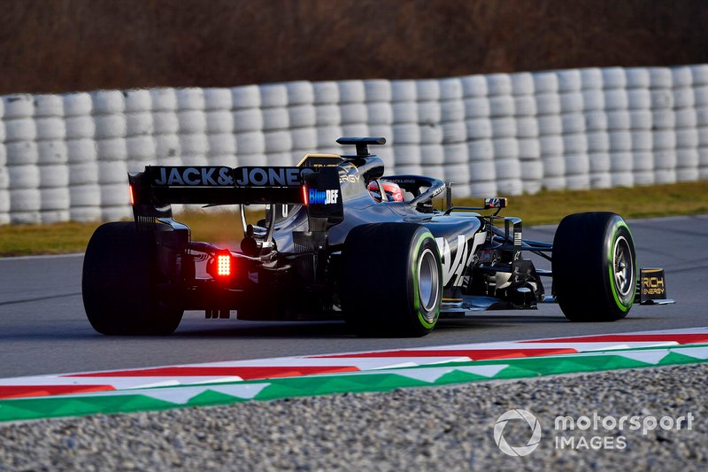 Romain Grosjean, Haas F1 Team VF-19 Ferrari