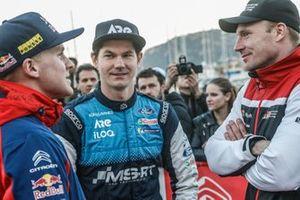 Teemu Suninen, M-Sport Ford WRT, Esapekka Lappi, Citroën World Rally Team, Jari-Matti Latvala, Toyota Gazoo Racing